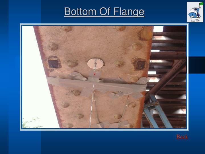 Bottom Of Flange