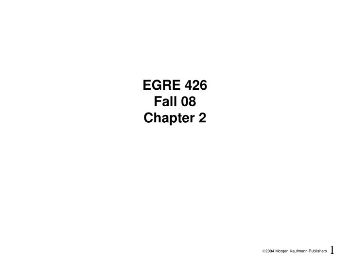 egre 426 fall 08 chapter 2 n.