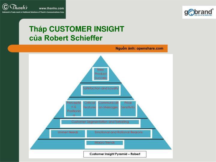 Th p customer insight c a robert schieffer