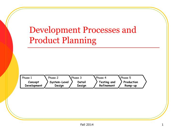 product planning and development plan Page one of every firm's planning document it diagramed the alternatives available for new product activity as a 3x3 matrix (see accompanying table) this table structurally depicts the possible nine combinations of market and technology  strategies for new product development.
