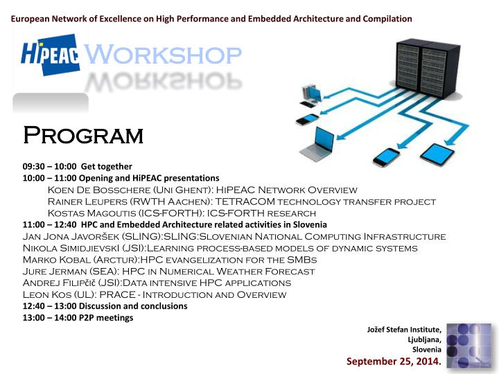 european network of excellence on high performance and embedded architecture and compilation n.