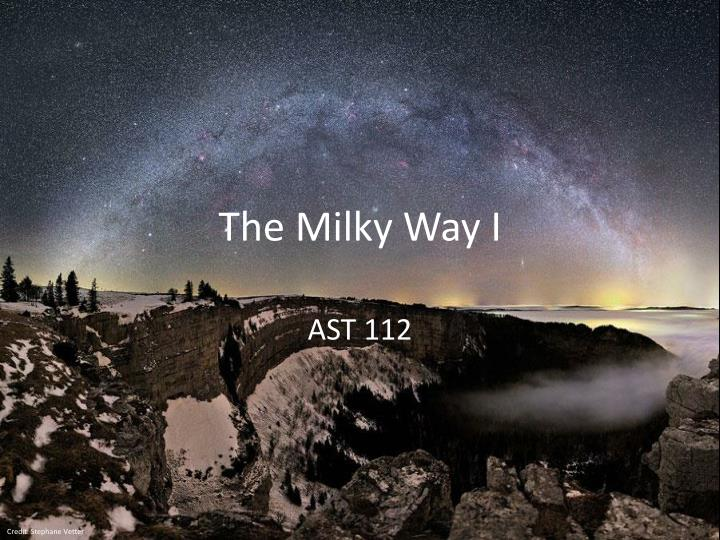 the milky way i n.