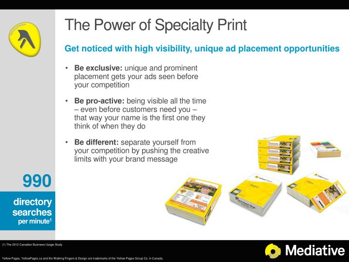 The Power of Specialty Print