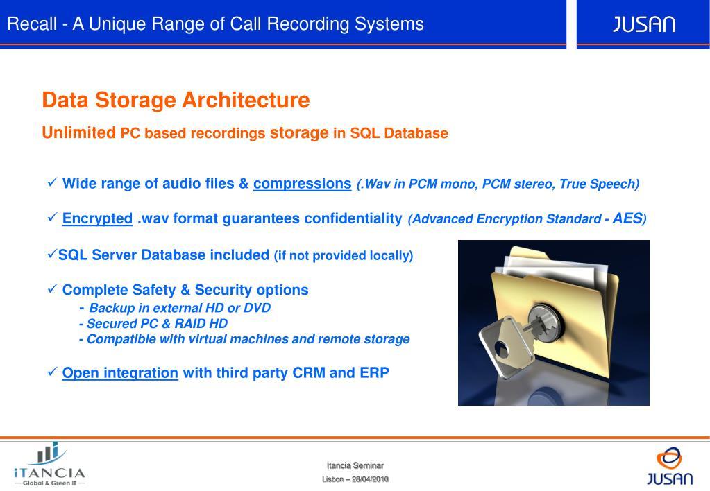 Call Recording Database