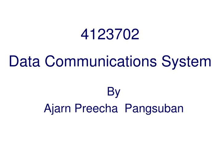 4123702 data communications system n.