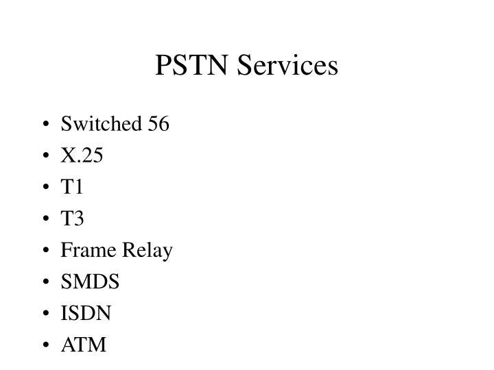 PSTN Services