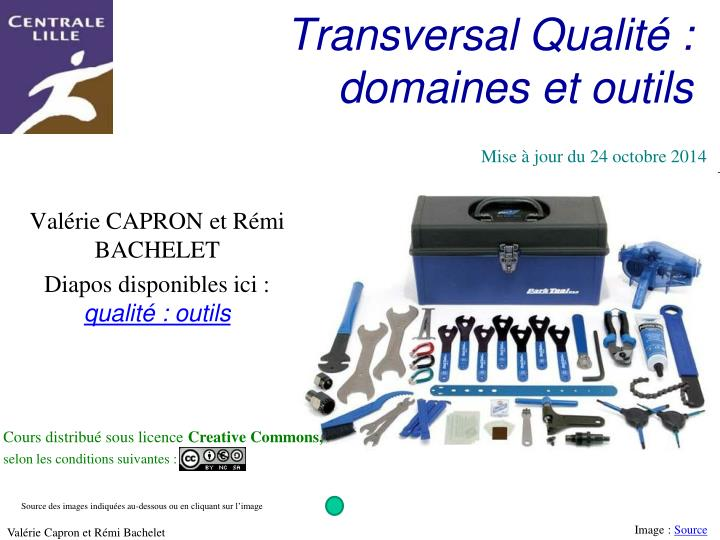 transversal qualit domaines et outils n.
