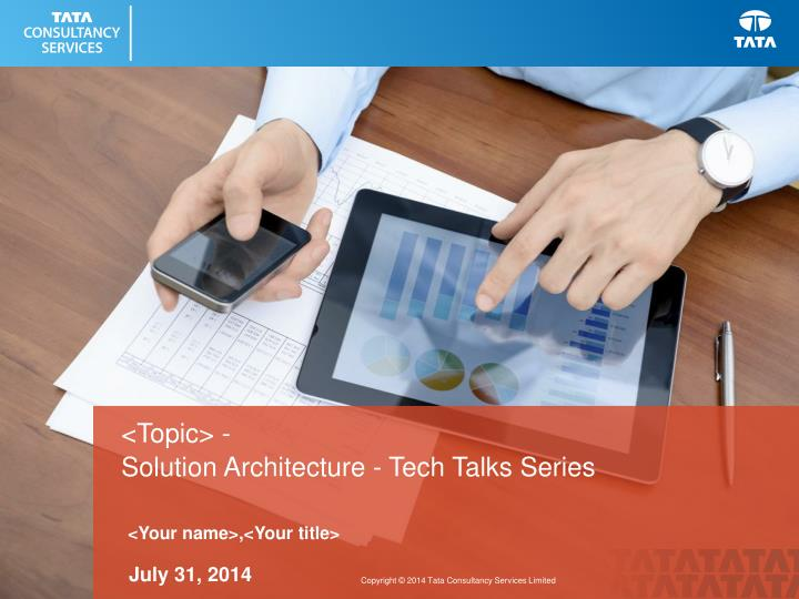 solution architecture tech talks series n.