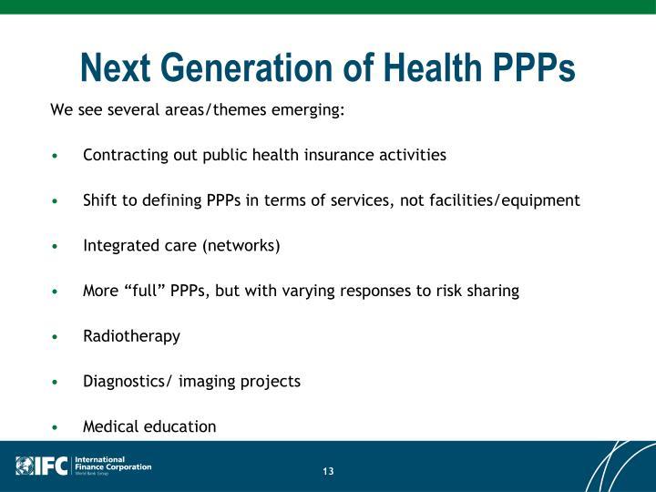 Next Generation of Health