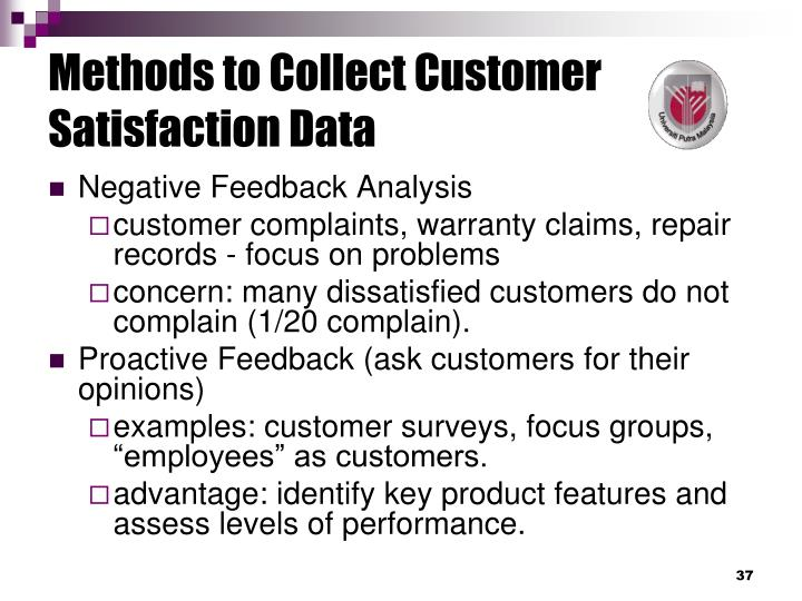customer satisfaction methodology The customer satisfaction metrics that matter here are seven questions you can use to measure customer satisfaction and the answer the overall health of your customer service.