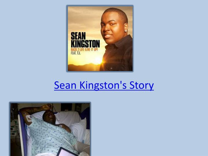 Sean Kingston's Story