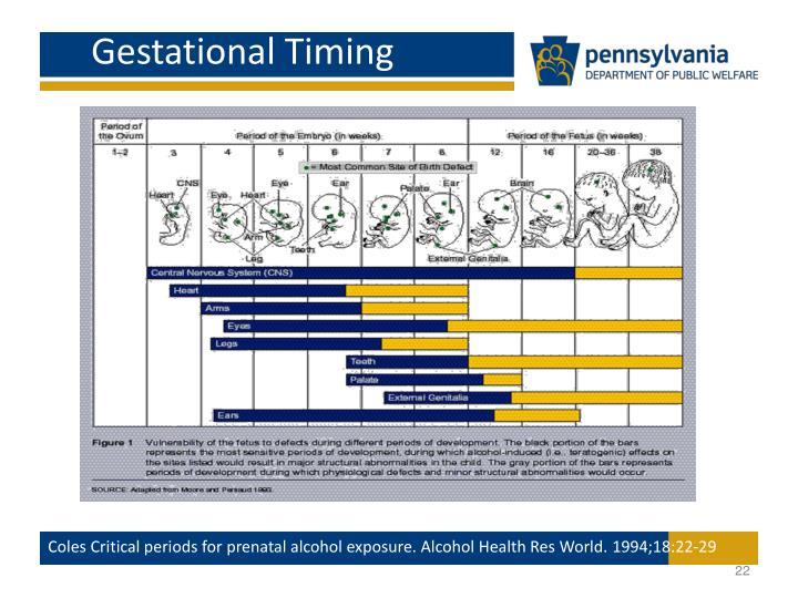 Gestational Timing