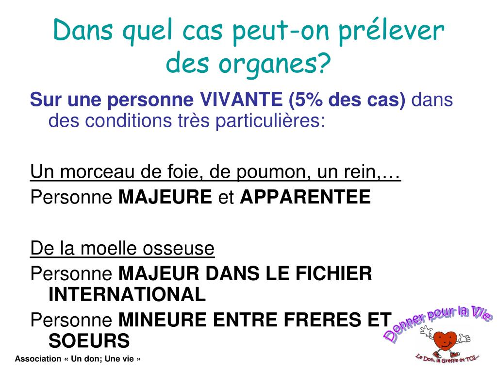 PPT - LE DON D'ORGANES PowerPoint Presentation, free..
