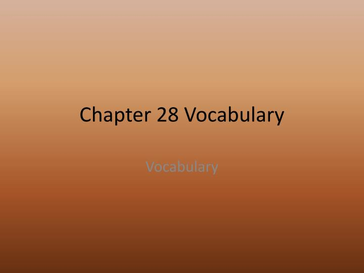 access ch 1 vocabulary Learn access vocabulary chapter 1 with free interactive flashcards choose from 500 different sets of access vocabulary chapter 1 flashcards on quizlet.