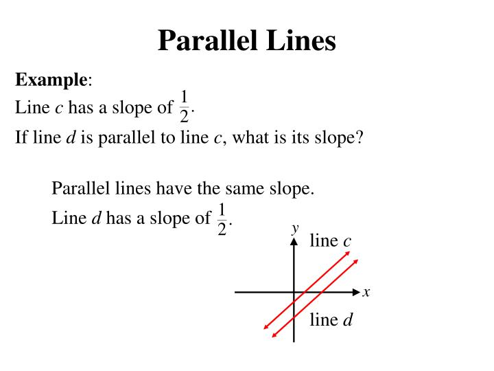 Parallel lines1