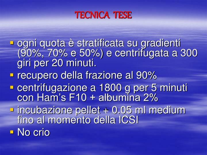 TECNICA  TESE