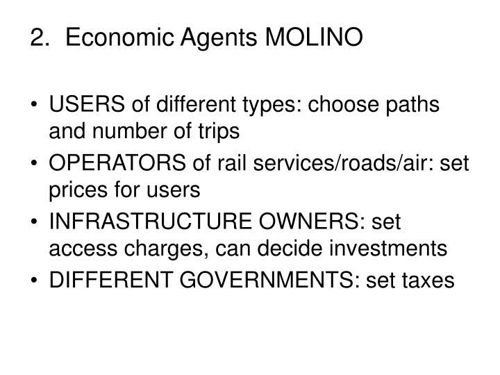 2.  Economic Agents MOLINO