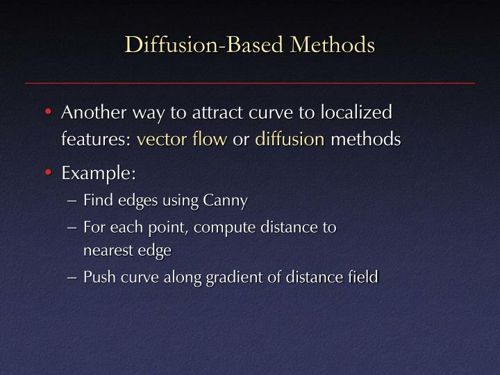 Diffusion-Based Methods