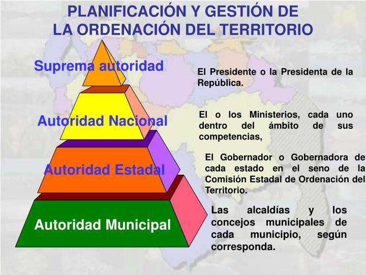 PLANIFICACIÓN Y GESTIÓN DE