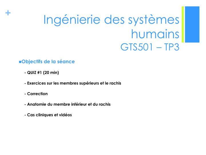 ing nierie des syst mes humains gts501 tp3 n.