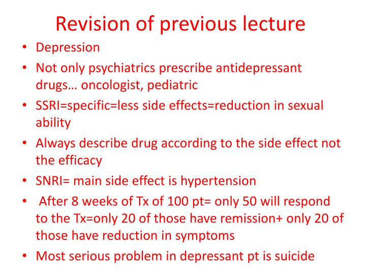 revision of previous lecture n.