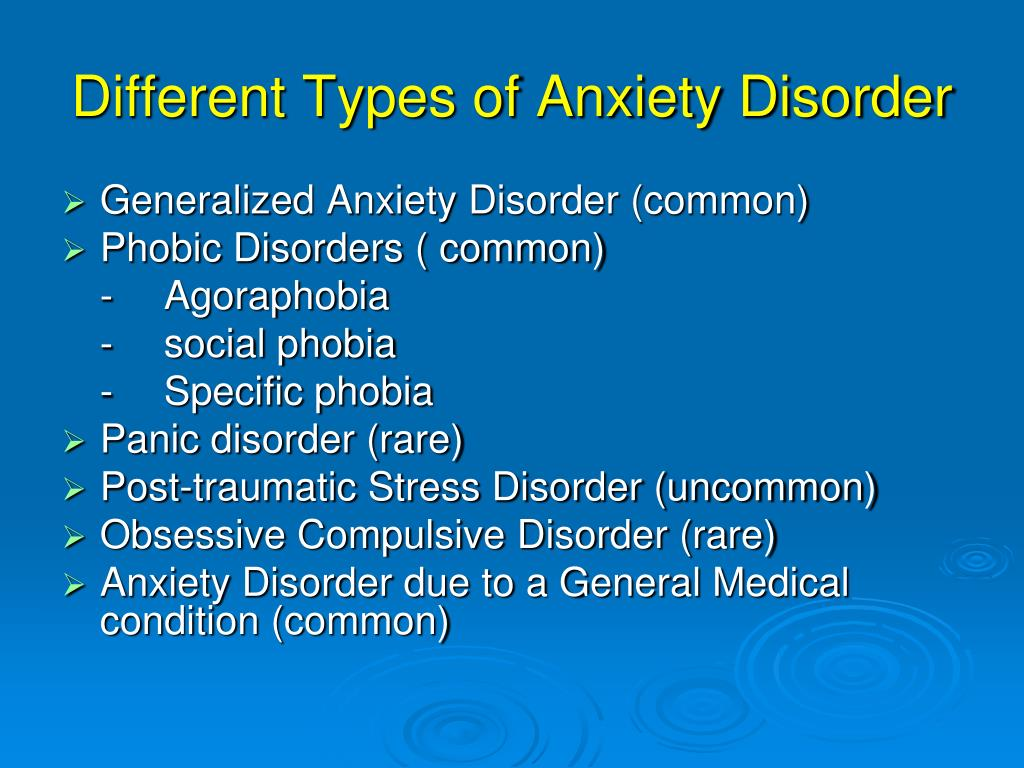 PPT - Anxiety Disorders in Older People PowerPoint ...