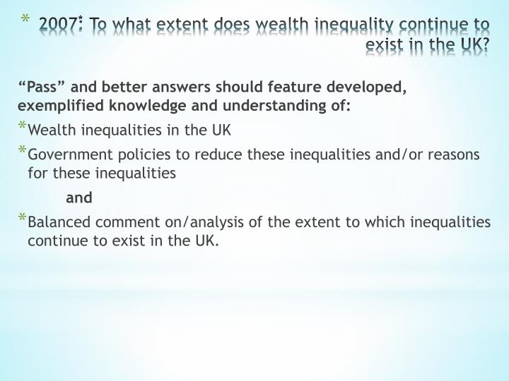 health vs wealth essay This first essay in the demographics of wealth series examines the connection between race or ethnicity and wealth accumulation over the past quarter-century as with subsequent essays, this one is the result of an analysis of data collected between 1989 and 2013 through the federal reserve's survey of consumer finances.