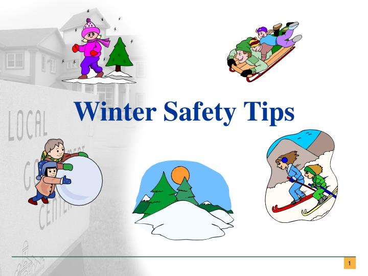 winter safety tips n.