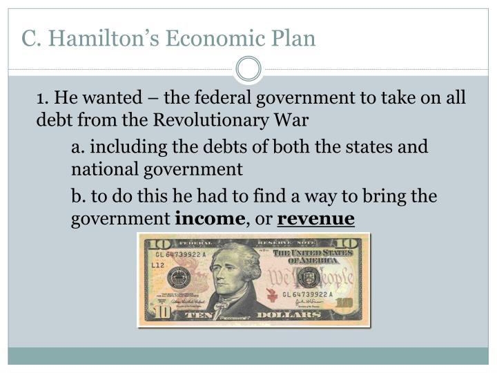 hamiltons economic plan