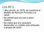 los 80 s