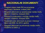 nacionalni dokumenti
