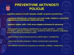 preventivne aktivnosti policije