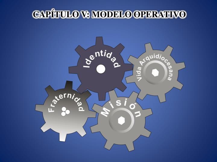 CAPÍTULO V: MODELO