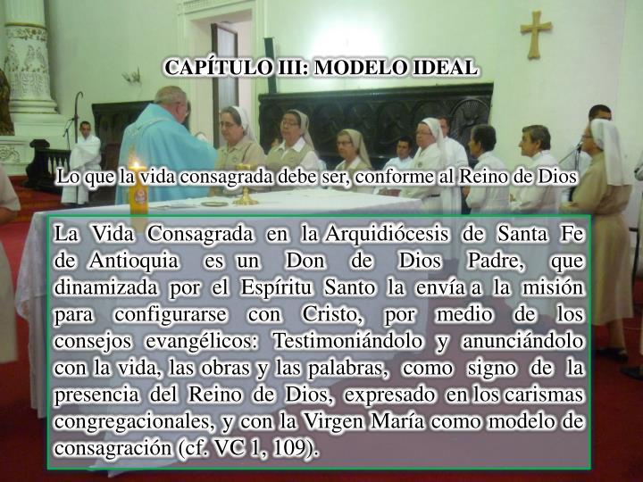 CAPÍTULO III: MODELO IDEAL