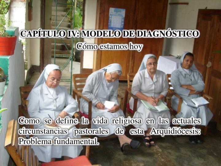 CAPÍTULO IV: MODELO DE