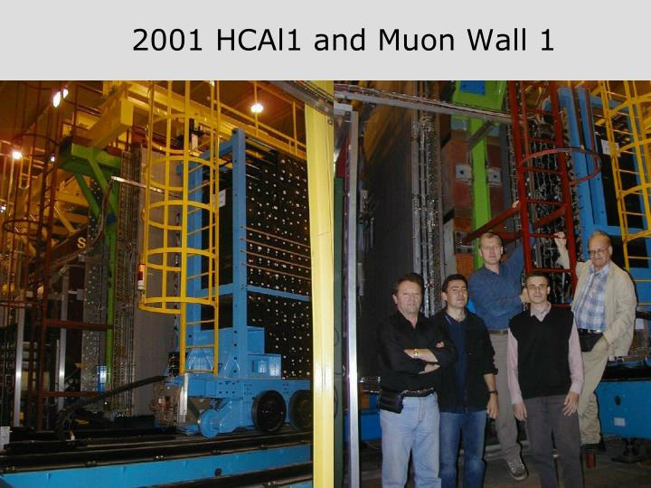 2001 HCAl1 and Muon Wall 1