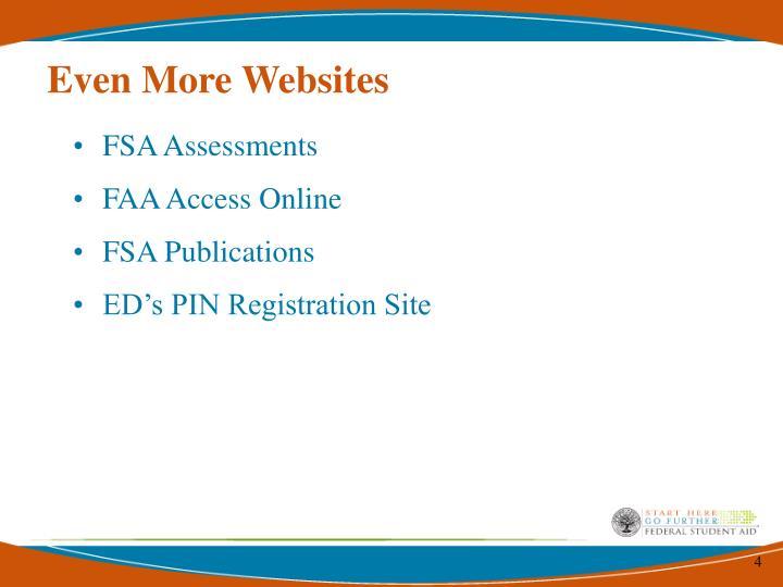 Even More Websites