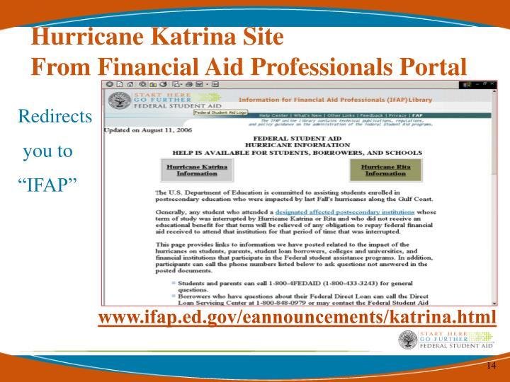 Hurricane Katrina Site