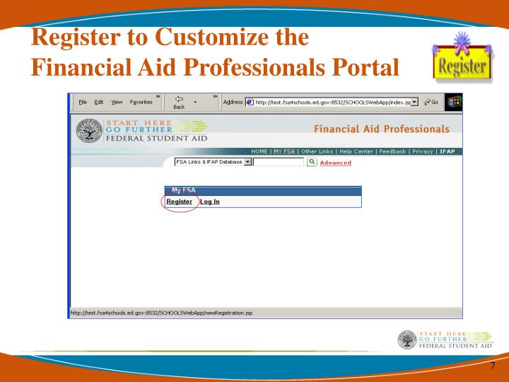 Register to Customize the