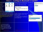 step 5 configure bluetooth in geoxt