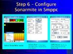 step 6 configure sonarmite in smppc