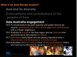 what is an asia literate student2