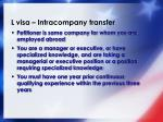 l visa intracompany transfer