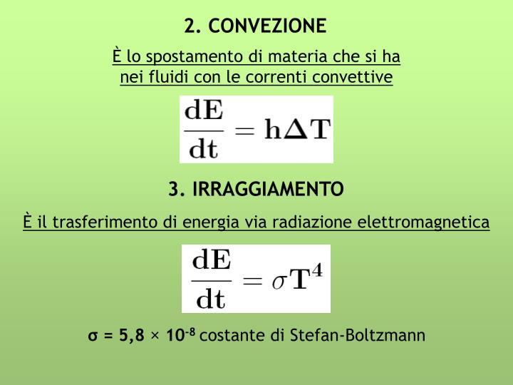 2. CONVEZIONE