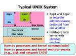 typical unix system