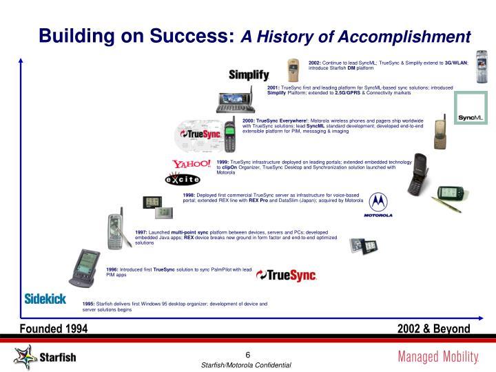 Building on Success:
