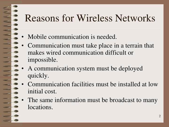PPT - Chapter 14: Wireless WANs PowerPoint Presentation - ID:5809200