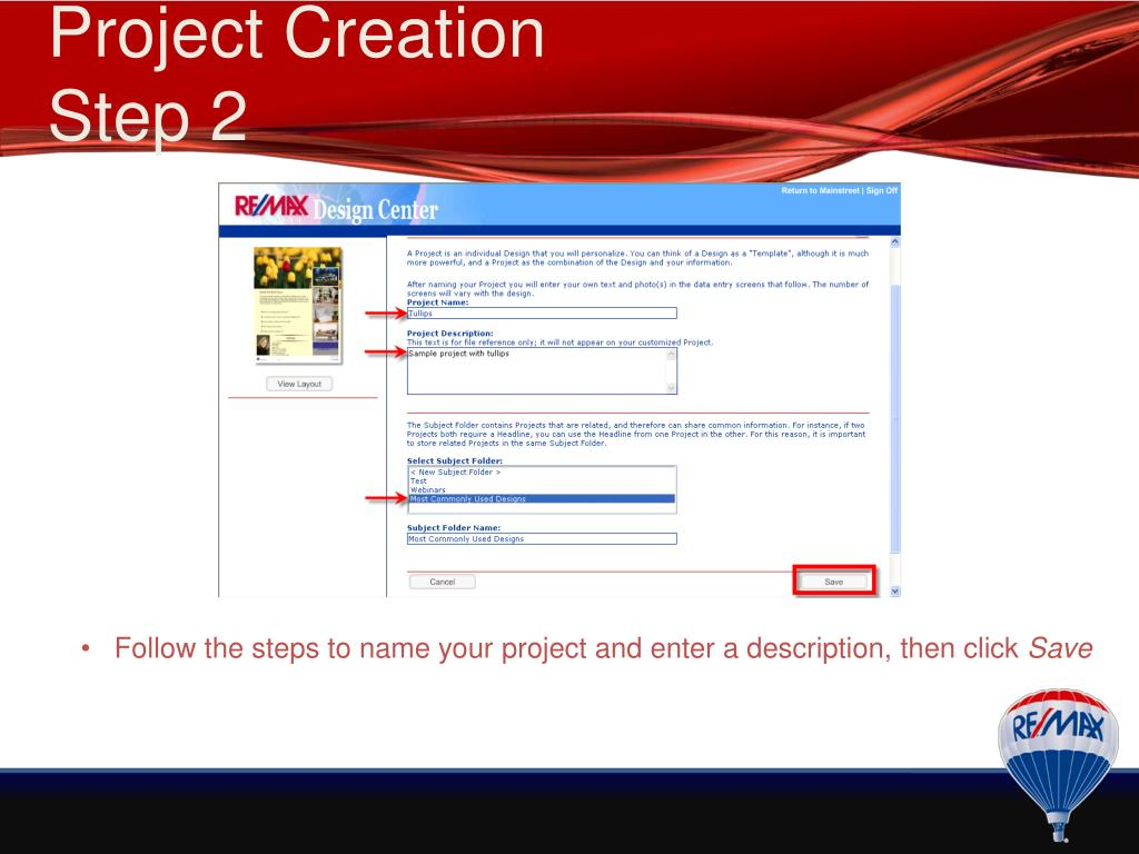 PPT - RE/MAX & You Breakout: Design Center PowerPoint