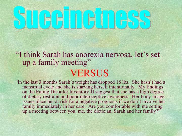Succinctness