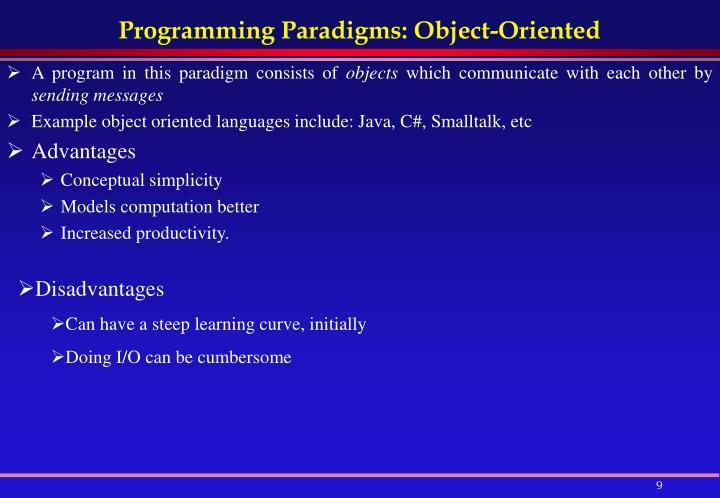 p1 programming paradigms